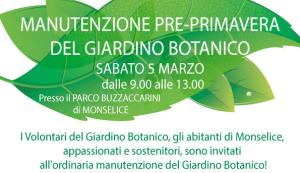 Manutenzione del Giardino Botanico!