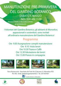 Manutenzione Giardino Botanico