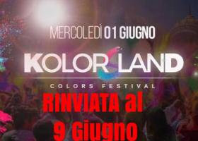 Kolor land la Festa dei Colori